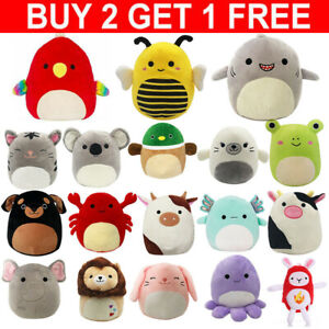 Squishmallows 7-Inch Plush Toy Squeeze Super Soft Doll Pillow Stuffed Cushion