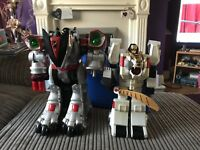 Bandai Power Rangers Time Force & White Tiger Megazord Bundle