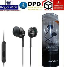 NEW Sony MDR-EX110LBP Black Stereo In-ear Earbud EX Series Headphones Earphones