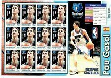 Grenada - 2004 - NBA Pau Gasol - Memphis Grizzlies - Sheet Of 12 - MNH