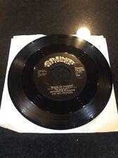 Jefferson Starship 45 rpm Vinyl Winds Of Change & Black Widow 1982 Grunt records