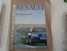 .Renault MAGAZINE 2002. reprint.. New Megane Hatch feature.. MINT