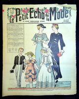 Le Petit Echo de la Mode année 1935, Ancien magazine Français N°12