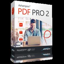 Ashampoo PDF pro 2/3 dispositivos versión completa/Nuevo