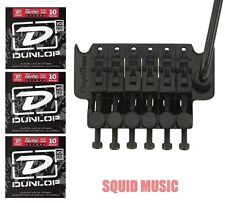 Floyd Rose Original German Black Tremolo System Complete w/ Nut ( 3 STRING SETS)
