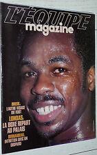 EQUIPE MAGAZINE N°107 1982 ASSE GARONNAIRE GIRESSE BRESIL BOXE LONDAS BERNAUDEAU