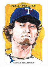 2014 Topps Museum Collection Yu Darvish #CCR-3 Canvas Collection Rangers
