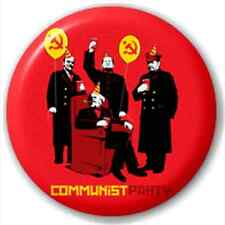 Communist Party 25Mm Pin Button Badge Lapel Pin