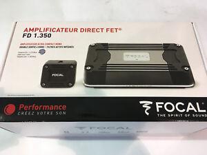 FOCAL FD 1.350 AMPLIFICATORE SUB MONO CANALE CLASSE D COMPATTO 700 W NEW AUTO