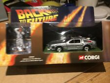 New ListingCorgi - Back to the Future - DeLorean Time Machine with Doc Brown 1:36 Scale