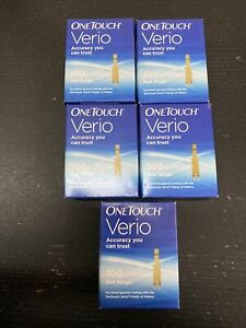 One Touch Verio Retail Test Strips, 500 Strips