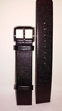 Kenneth Cole 18mm Black Leather Strap