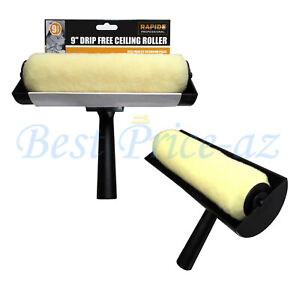 """9"""" Large Ceiling Paint Roller Anti Non Drip Free, Decorating DIY Brush Tools"""