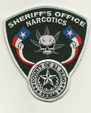 Narcotics El Paso County Sheriff  State Texas TX Police