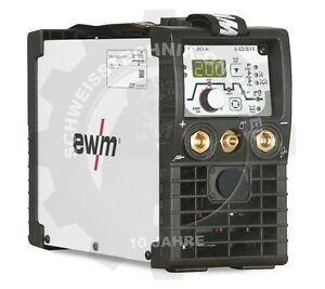 EWM Picotig 200 DC PULS WIG-Schweißgerät, tragbar ohne Zubehör