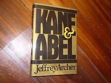 Kane and Abel Jeffrey Archer 1st HC/DJ