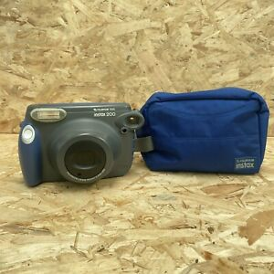 Fuji Instax 200 Wide Instant Film Camera Case And Manual Excellent Condition