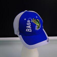 Bass Fishing Fisherman Cap One Size Adjustable Baseball Hat Unisex 9f276a7c00a4