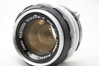 Nikon Nikkor-S Auto 1:1.4 50mm Lens *Very Good* #is027f