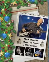 Mark Knopfler 'Over The Years' 2021 Calendar - IDEAL XMAS GIFT (Dire Straits)