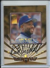 1997 DONRUSS PASSING THE TORCH KIRBY PUCKETT & ANDRUW JONES DUAL AUTO