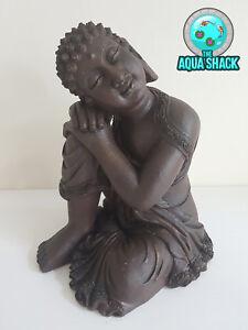 Ruhend Buddha Aquarium Deko - Dekoration Zen Orientalisches Asiatisch
