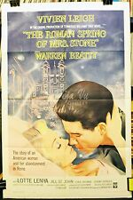 HS The Roman Spring of Mrs. Stone Original Movie Poster 1962 - Fine