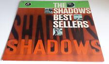"""THE SHADOWS  """"BEST SELLERS""""   GERMAN  12 TRACK   LP"""