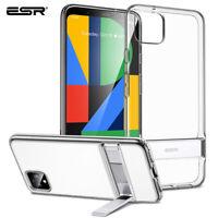 ESR Metal Kickstand PU Soft Case for Google Pixel 4 XL Stand Cover Shockproof
