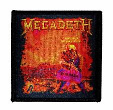 """Megadeth: Peace Sells But Who's Buying?"" Metal Album Art Iron On Applique Patch"