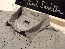 "PAUL SMITH Mens Shirt 🌍 Size XL (CHEST 42"") 🌎 RRP £95+ 📮 IRREGULAR POLKA DOTS"