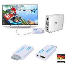 HDMI Adapter für Nintendo Wii  Konverter Stick 720p 1080p Full HD TV Audio