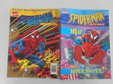 16x Marvel Comic Spider-Man Nr.1-16 komplett (mit Poster) Zustand 1-2