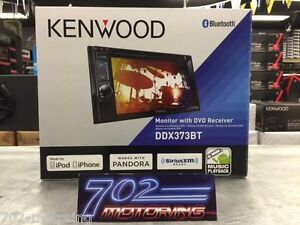 NEW KENWOOD 2016 MODEL DDX373BT DOUBLE DIN DVD RECEIVER BLUETOOTH / XM OPTION /
