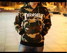 Men's hoodie hedging skateboard camouflage Thrasher Hip-Hop 2017 Sweatshirts!