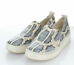 11-17  $250 Women's Sz 8 M Vince Saxon 2 Leather Loafer Slip On Sneaker