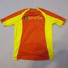 KIPSTA ESPANA SOCCER JERSEY RED MEN XS YOUTH LARGE MLS WARM UP DRI FIT
