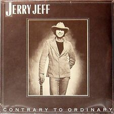 JERRY JEFF WALKER 'CONTRARY TO ORDINARY' US PRESSED LP SEALED