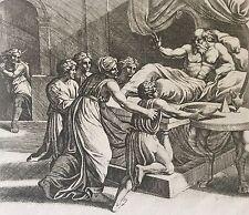 Nicolas CHAPRON ou CHAPERON 1612-1653 d'après RAPHAEL Jacob Esaü XVIII