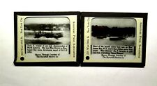 Magic Lantern Slides Miss Detroit Tech Jr Winner 1915 Boat Race Manhasset Bay NY