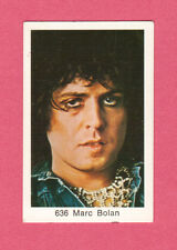 Marc Bolan T Rex Vintage 1970s Pop Rock Music Swedish Card #636