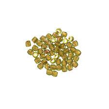 True2 ™ Fire Lucidato ceco sementi Perline 2mm Oliva RAME FODERATO Pacco 50 (L54 / 6)