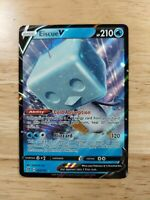 Eiscue V 055/192 Rebel Clash - NM Ultra Rare Full Art Pokemon Card
