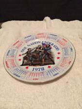One Nation Under God 1978 Calendar Spencer Gifts 9�