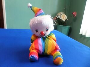VINTAGE MUSICAL WIND UP CLOWN DOLL