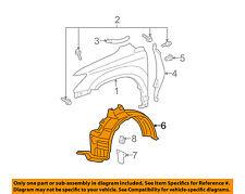 Lexus TOYOTA OEM-Front Fender Liner Inner Splash Shield Guard Right 538050E010