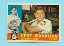 1960 Topps Baseball  #190 Gene Wooding