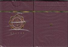 DMC Elites Rouge Playing Cards Poker Size Marked Deck Cartamundi Custom Limited