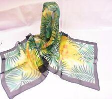 Sciarpa da donna | Seta pura - 100% - Italy Fantasia Verde | Pure Silk Scarf
