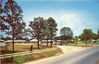 Valdosta Georgia 1950-60s Postcard The Ranch Motel